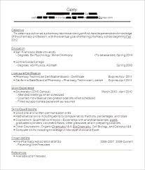 pharmacist resume sample experience resumes
