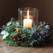 Christmas Flower Table Decorations Uk by 27 Best Real Scented Christmas Wreaths 2015 Images On Pinterest