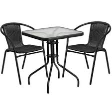 Black And White Patio Furniture Outdoor Bistro Sets Shop The Best Deals For Dec 2017 Overstock Com