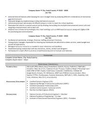 System Engineer Resume Sample by Engineering Resume Example And 4 Great Tips To Writing One Zipjob