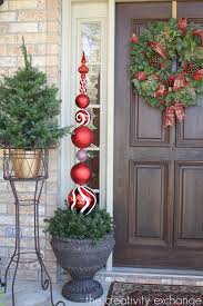 Christmas Topiaries With Lights Diy Tall Ornament Topiary
