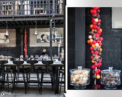 deco de restaurant comptoir loranger e magdeco magazine de décoration