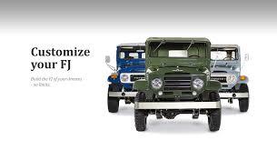 build your toyota the fj company toyota fj land cruiser restorations the fj