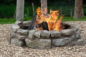 How To Lite A Fire Pit - 8 tips for a diy stone fire pit