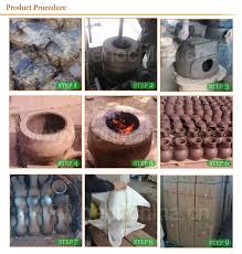 Ceramic Fire Pit Chimney - commercial garden clay chiminea wholesale view clay chiminea
