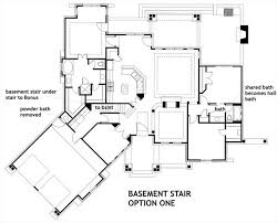Stair Floor Plan Vita Di Lusso 7878 3 Bedrooms And 2 Baths The House Designers