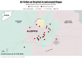 Aleppo Syria Map by Hospital Attacks Breaking Aleppo U2013 Atlantic Council