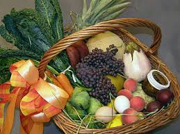 vegetarian gift basket s bower florists fruit and veggie baskets