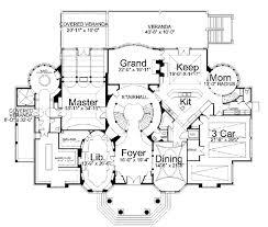 Luxury Colonial House Plans House 28916 Blueprint Details Floor Plans