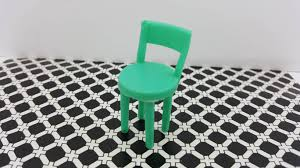 miniature dollhouse kitchen furniture dollhouse kitchen chair tall green bar stool toy soft plastic half