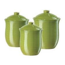 green canisters kitchen set of 3 glass tea coffee sugar jars home tea