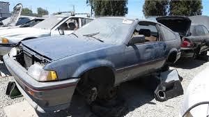 junkyard treasure 1986 honda civic crx hf autoweek