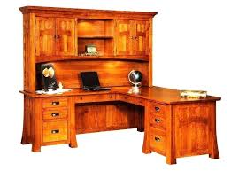 Compact L Shaped Desk L Shaped Desk With Locking Drawers Rustic Desk Corner With Hutch