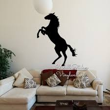 horse wall sticker modern horse wall decal animal sticker children horse wall sticker modern horse wall decal animal sticker children room kids modern wall decor cut vinyl stickers a22 in wall stickers from home garden on