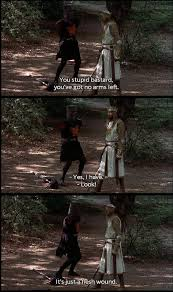 monty python and the holy grail beotch just for schnitz