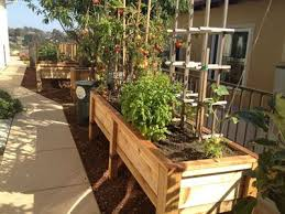 raised flower bed with pergola love for the outside