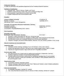 Student Internship Resume Template Internship Resume Template Microsoft Word Zombotron2 Info
