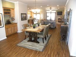 palm harbor home floor plans view from entry with dining room and built in bar in the