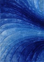 Blue Modern Rug Blue Shag Area Rug Visionexchange Co