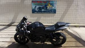 06 suzuki gsxr 600 for parts good engine and cln papers used