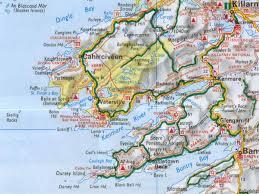 Map Ireland Kerry Region Detailed Map Ireland Ireland Pinterest Ireland