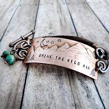 air bracelet drink the air mountain bracelet a twist of whimsy
