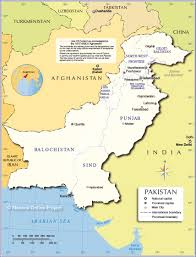 Map Of Countries Administrative Map Of Pakistan Islamic Republic Of Pakistan