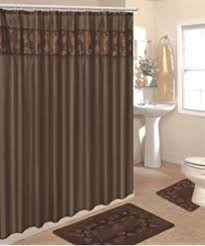 amazon com 4 piece luxury embroidered bath rug set 3 piece