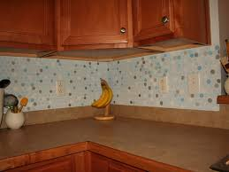 interior awesome metallic penny tile backsplash along with gray