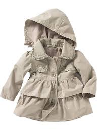 amazon com baby toddler girls fall winter trench coat wind hooded