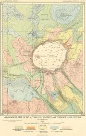 Oregon Lakes Map by Geologic Features