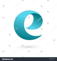 Disigen by Letter E Logo Icon Design Template Stock Vector 208034314