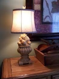 vintage lamp refinished in annie sloan chalk paint colors paris