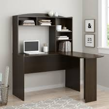 inval computer desk with hutch stunning lshaped computer desk and return with hutch by aspenhome