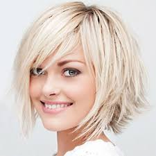 simple short hairstyles for women chic straight bob with side