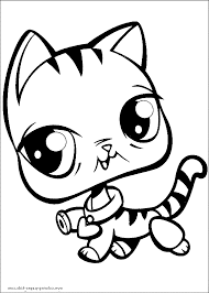 print u0026 download littlest pet shop coloring