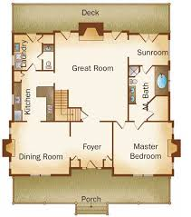 plantation home floor plans plantation home plan by stonemill log timber homes
