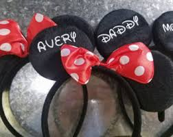 personalized mickey etsy