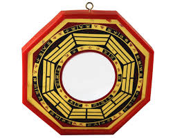 convex and concave bagua mirrors in feng shui