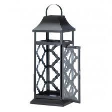 black damask candle lantern wholesale at koehler home decor