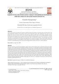 cara membuat imb semarang kajian evaluasi penetapan target pdf download available