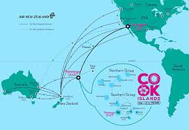 where is cook islands located on the world map cook islands laid back and easily reachable goway