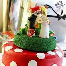 casamento super mario bolos pinterest