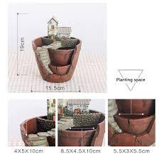 aliexpress com buy zakka resin flower pot for succulent plants