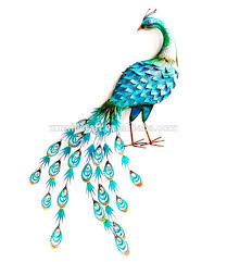 home decor peacock metal wall art buy metal wall art home decor