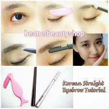 How To Do Eyebrow Jessica Ie U0027s Lifestyle Journal Short Tutorial Korean Straight
