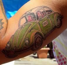 vw mexican taxi car tattoo design ideas tattoo design ideas