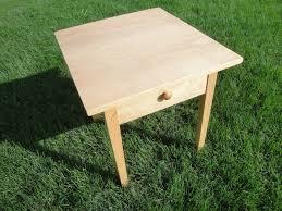 Shaker End Table End Table Shaker End Table Tables Designs Square Shape Wooden