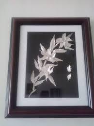 narcissus flower art bone of fish home decor wall art trend 2017