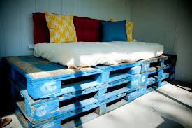 Bed Frame Made From Pallets Bedroom Pallet Bed Designs Furniture Out Of Pallets Bed